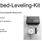 Anleitung Heatbed-Leveling-Kit