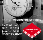 Innovative Citizen Workshop 3D-Drucken