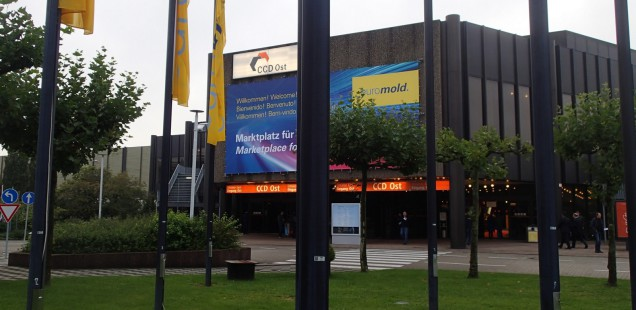 Euromold 2015 Messerundgang
